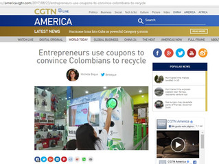 Entrepreneurs use coupons to convince Colombians to recycle