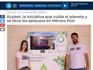 Ecobot, la iniciativa que cuida el planeta y se lleva los aplausos en Héroes Fest
