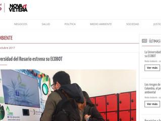 La Universidad del Rosario estrena su Ecobot