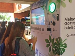 Encuentra el primer Ecobot en La universidad Icesi