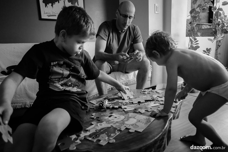 sessão documental de família