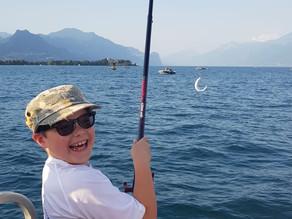 Terminato con grande successo e  grande soddisfazione  il corso di pesca 2019