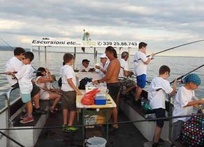 Terminato con grande successo e  grande soddisfazione  il corso di pesca 2018