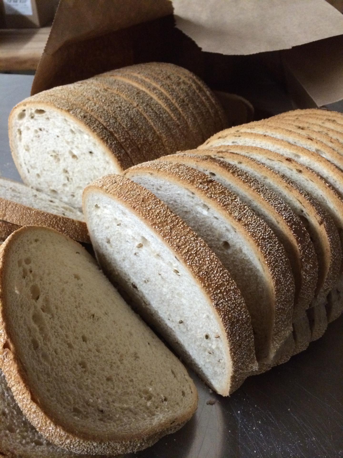 Rye Bread Sliced