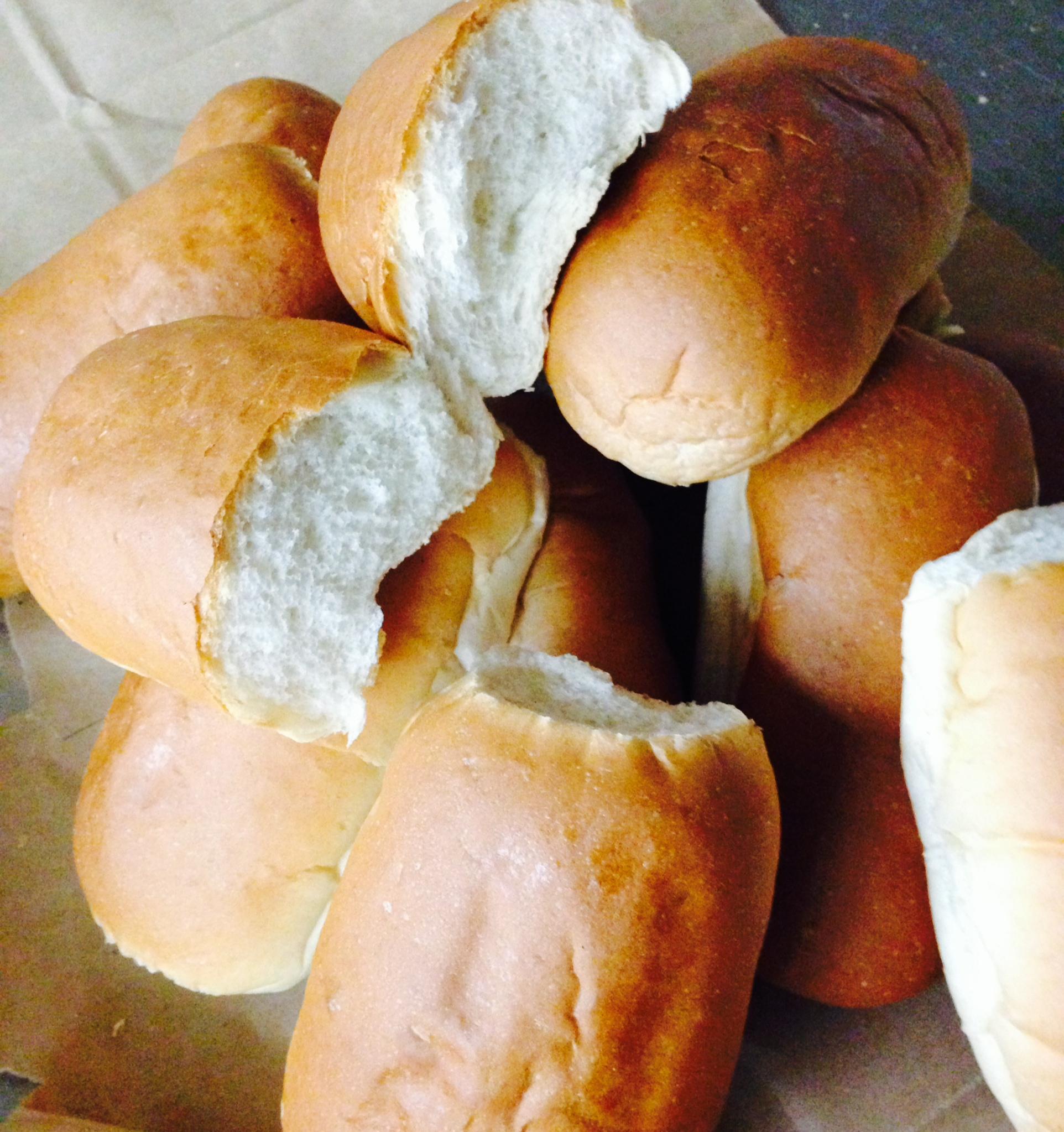 Pastrami Sandwich Bread Rolls