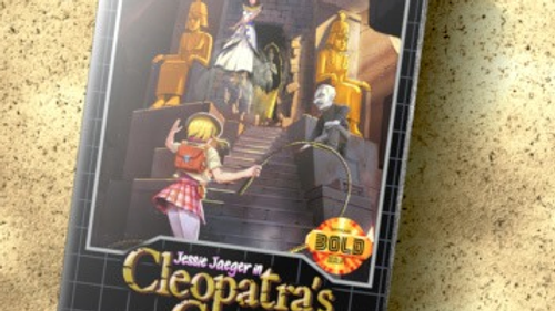 Jessie Jaeger in Cleopatra's Curse Limited Edition!