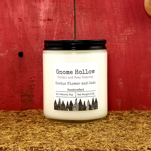 Cactus Flower and Jade Scented Soy Candle