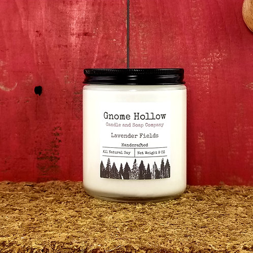 Lavender Fields Scented Soy Candle
