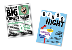 Fundraising Event Posters