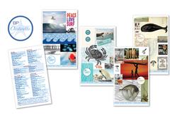 Blue Plate Oysterette Logo & Menu