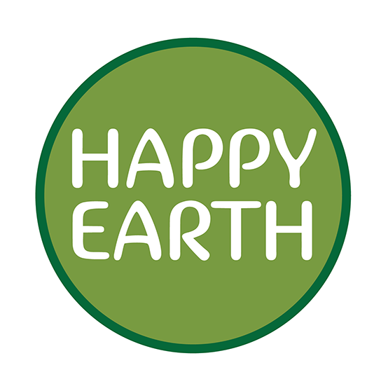 Happy Earth Logo