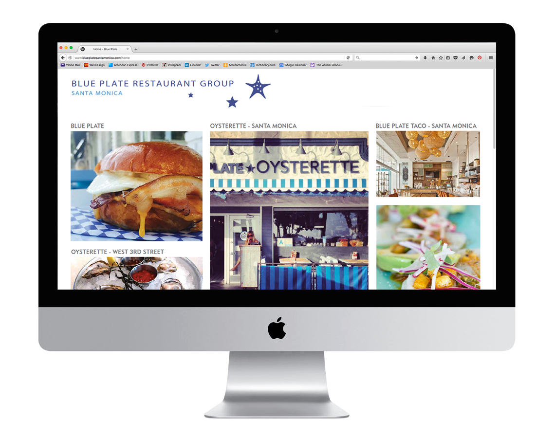 Blue Plate Restaurant Group Website