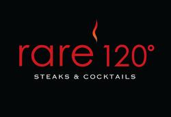 Rare 120 Steakhouse Logo