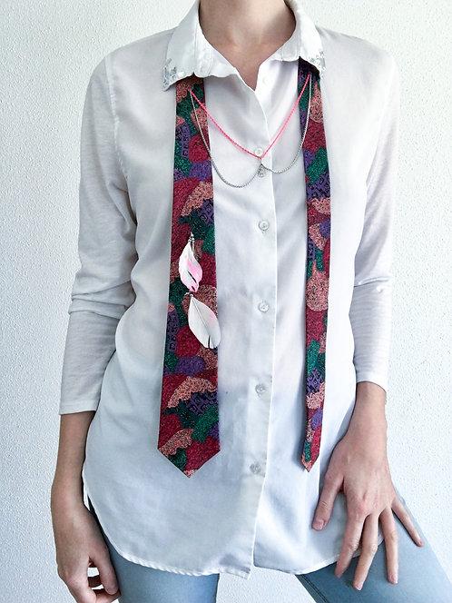 Bijoux Cravate Plume
