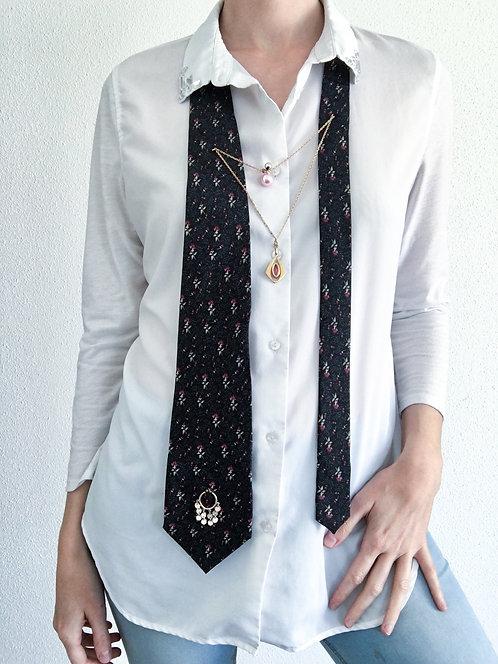 Bijoux Cravate Rose