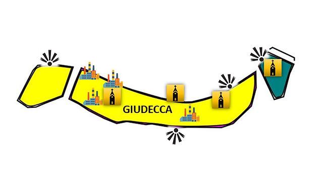 GIUDECCA MAP