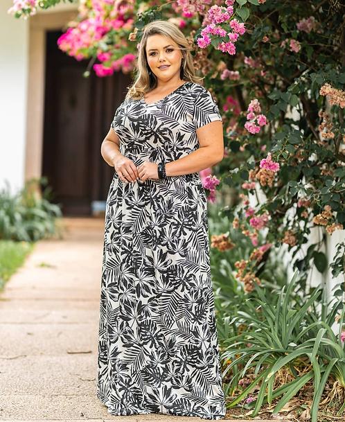 lindo vestido com manguinha