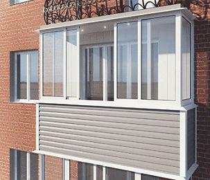 Отделка балконов и лоджий Кайрос