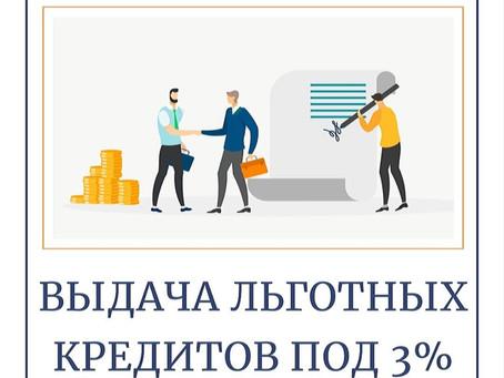 Поддержка бизнеса: утверждены правила выдачи льготных кредитов под 3%