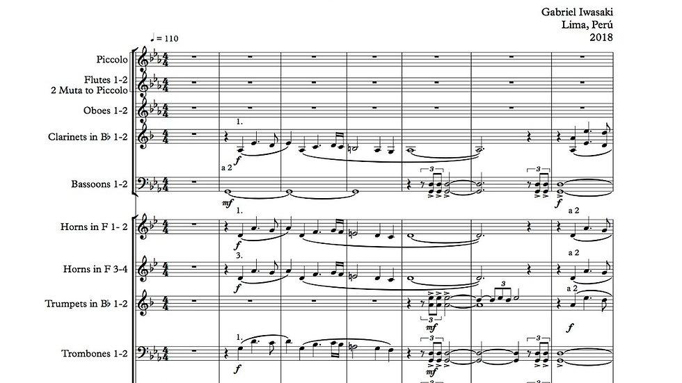 """Genesis Universe"" Orchestral Score + Audio Track"