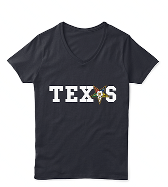 OES TEXAS V-Neck