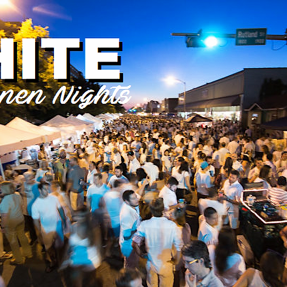 White Linen Nights in the Heights with Hop Topic