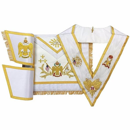 Premium 33°Apron and Collar Set