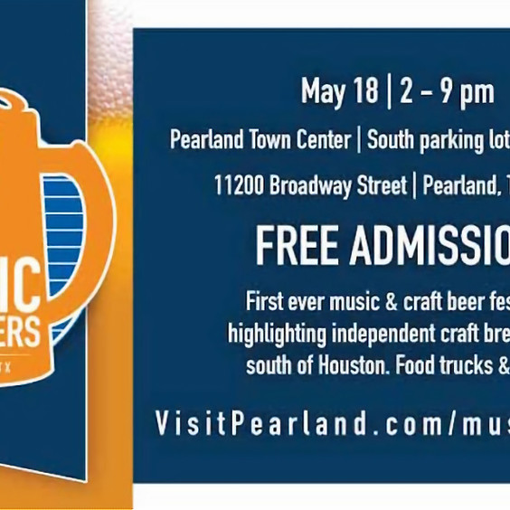 Music to My Beers Fest at Pearland