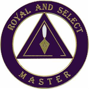 DIE CAST AUTO EMBLEM-ROYAL AND SELECT MASTER