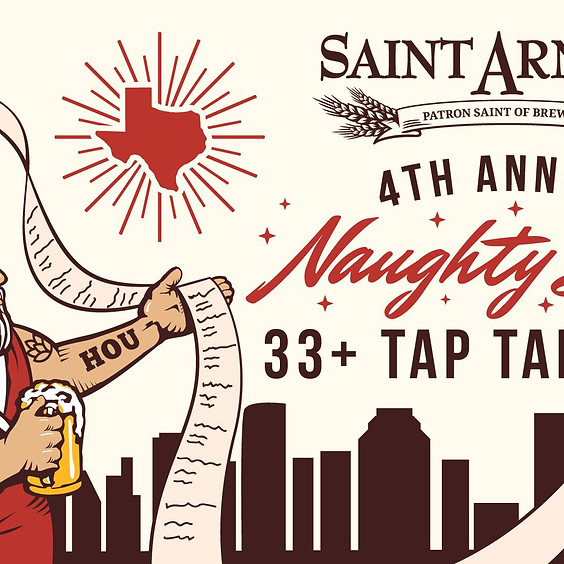 4th Annual Naughty List 33+ Tap Takeover