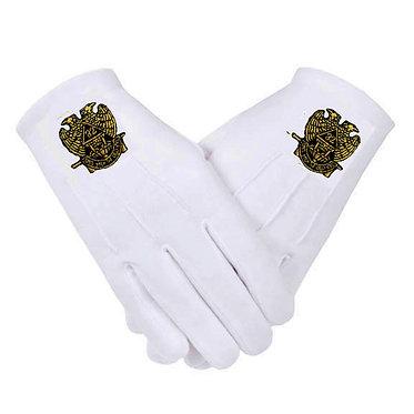 32° Scottish Rite Gloves