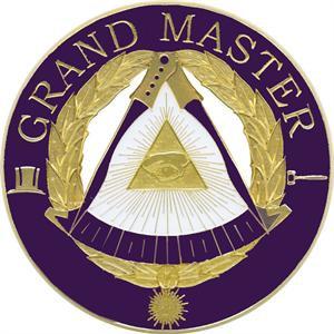 DIE CAST AUTO EMBLEM GRAND MASTER