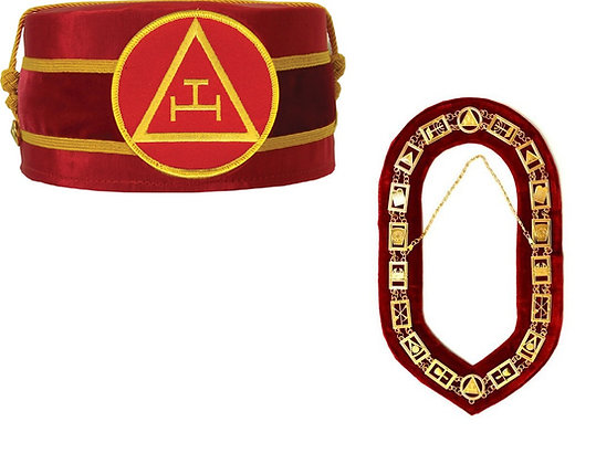 Royal Arch Crown and Apron Set