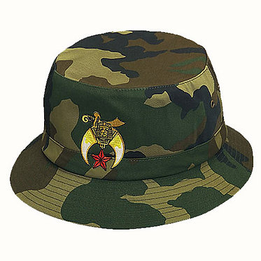 SHRINER CAMO FISHERMAN HAT