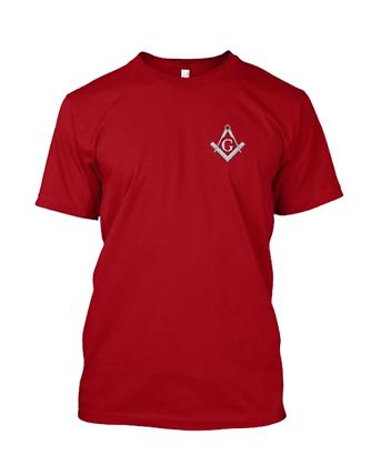 RED MASONIC T-SHIRT