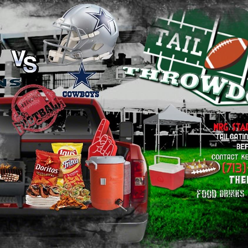 """A HOUSE DIVIDED""  Texans vs Cowboys TAILGATE THROWDOWN"