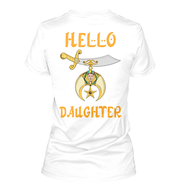 CUSTOM DAUGHTER'S COURT T-SHIRT