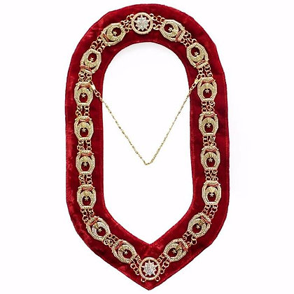 RHINESTONE SHRINER COLLAR