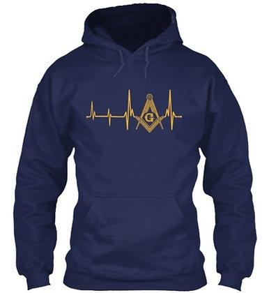 MASONIC HEARTBEAT HOODIE