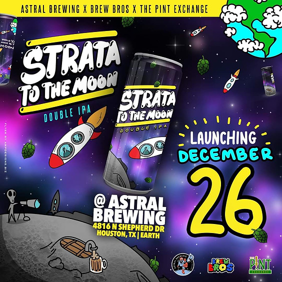 Strata To The Moon Launch