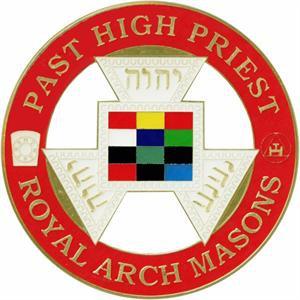 DIE CAST AUTO EMBLEM PAST HIGH PRIEST