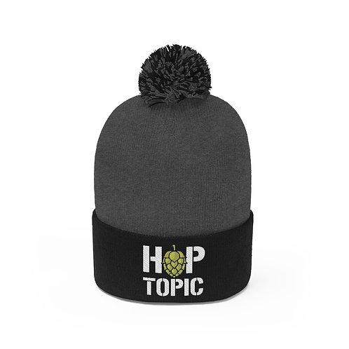 Hop Topic Pom Pom Beanie