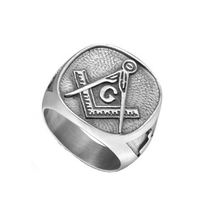 HAMMERED MASONIC RING