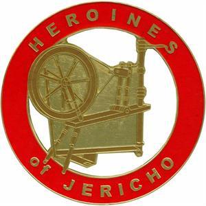 DIE CAST AUTO EMBLEM-HEROINES OF JERICHO