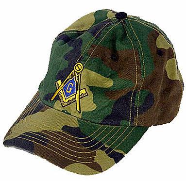 MASONIC CAMO CAP