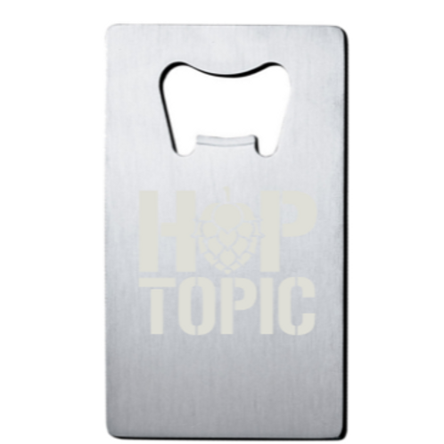 Square Hop Topic Bottle Opener