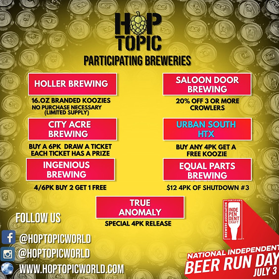 National Beer Run