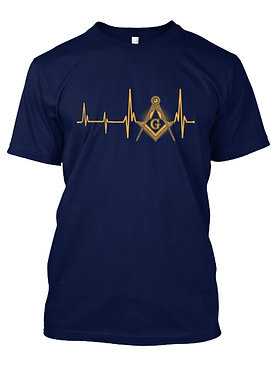 MASONIC HEARTBEAT T-SHIRT