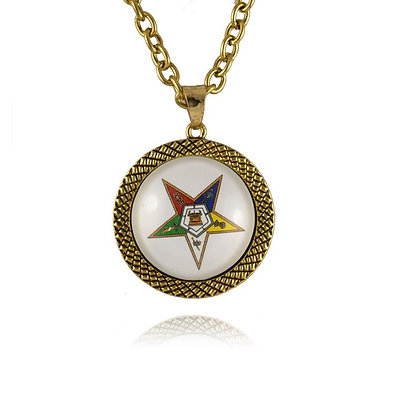 OES NECKLACE AND CHARM