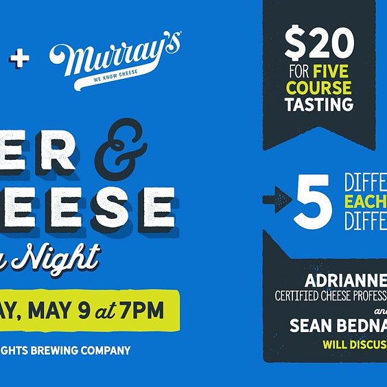 Beer and Cheese Pairing at Great Heights